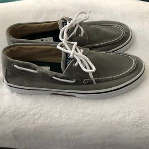 Sperry Shoes - NWT Mens Sperry Canvas Boat Shoes 9.5M